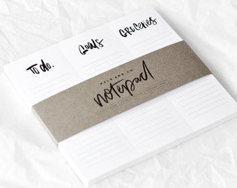 The Lists - Magnetic Notepad