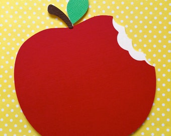Apple for the Teacher Card - Personalized