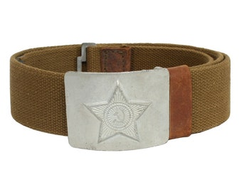 Soviet / Russian Military Soldier belt silver