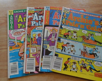 Four Archie's Pals n Gals Comics from 1979-1983