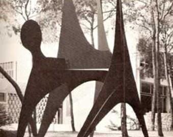 1966 Direct Metal Sculpture book Meilach MID CENTURY MODERN design art