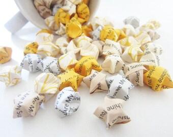 SALE 200 You Are My Sunshine Origami Stars