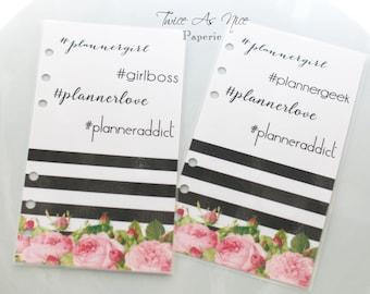 Planner Girl's Hashtag Favorites Dashboard