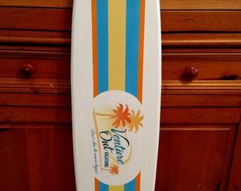 Surfboard Wall Art Custom Logo Surfboard