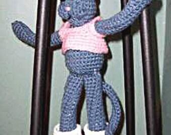 Crochet Pattern,  Cat Doll