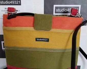 Sunset Canvas Handbag (Style B)