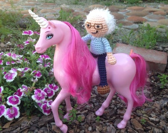 Bernie Sanders doll - feel the bern - MADE TO ORDER