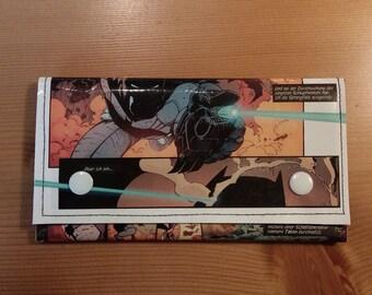Batman comic assault//wallet, small