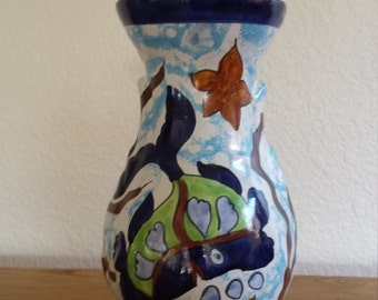 Mexican Fish Vase...Pottery