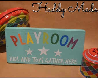Playroom Door Plaque
