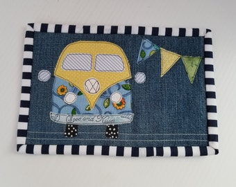 VW Mug Rug - VW Bus Coaster
