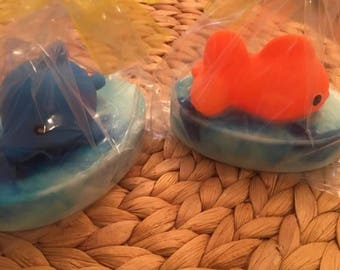 Kid Fun Soap,Fish Soap,Whale Soap,Sealife Soap,Ocean Soaps,Fun Bath
