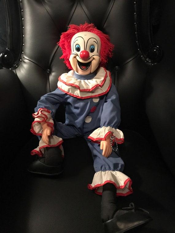 Vintage  Bozo the Clown Ventriloquist Doll
