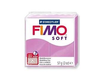 Polymer clay Fimo Soft 57 g - Lavender n - 62