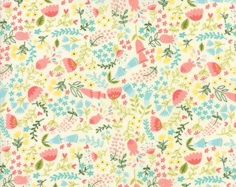 Home Sweet Home Fabric #20574-11 Stacy Ies Hsu, Moda Fabrics, Goldilocks and the 3 bears, Juvenile fabric, Baby Quilt, Baby Shower, IN STOCK