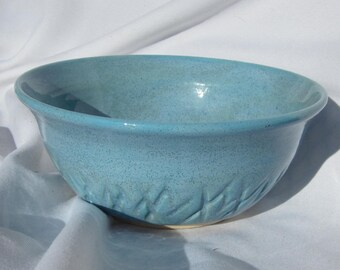 Bowl in Blue - Handmade Pottery