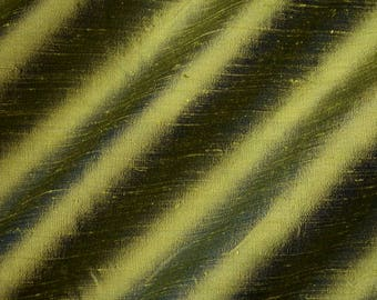 AVOCADO - [2000-1C]  - Pure Silk Dupioni Fabric - Handwoven  By The Yard