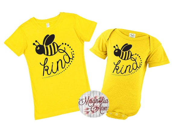 Bee Kind Shirt, Bumble Bee Shirt, Bee Shirt, Kids Shirt, Girls Bee Shirt, Toddler Bee Shirt, Baby Tee, Baby Bee Shirt, Matching Shirts, Bee