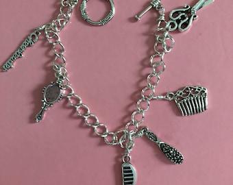 Silver Let's Get Ready Charmed Bracelet