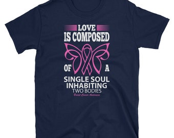 Breast Cancer Awareness Ribbon Quote T-Shirt