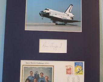 NASA -1983 - Astronaut Dr. Norman Thagard - Space Shuttle Challenger STS-7 & autograph
