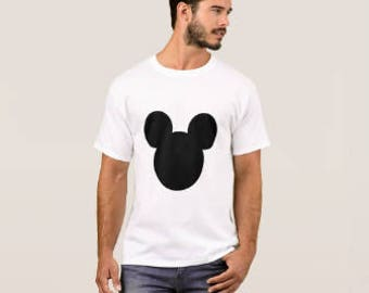 Mickey Mouse Logo Shirt (Personalized Shirt/Made to Order)