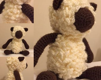Larry the Lamb Crochet toy - Made to order