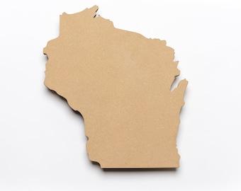 """Wood-Wisconsin-3/8""""Thick x 12""""H x 11""""W"""