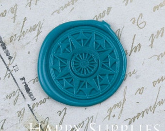 Buy 1 Get 1 Free - Wax Seal Stamp - 1pcs Compass Decorative Pattern Metal Stamp / Wedding Wax Seal Stamp / Sealing Wax Stamp (WS318)
