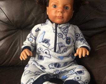 "Reborn Doll Biracial Boy Jake 22"""