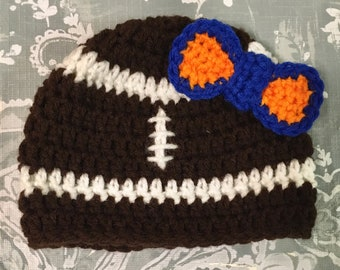 Football Beanie woth Team Colors