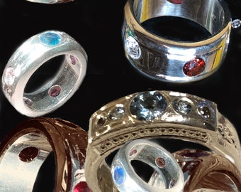 Sterling Silver Band -made to order