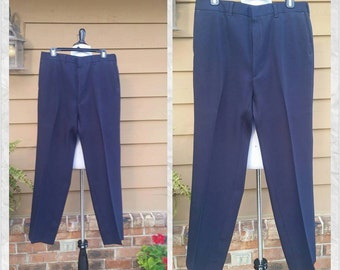 Haggar Stretch Pants for Men Size 34x31//Sports Leisure Golf Career Pants for Men//1970s Fashions//Gifts for Him//Fathers Day Gift