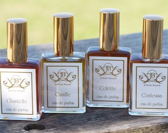 Natural Perfume Samples  French Collection Natural Perfume botanical organic jasmine musk oil rose floral citrus for sensitive to synthetics
