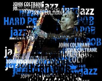 John Coltrane print