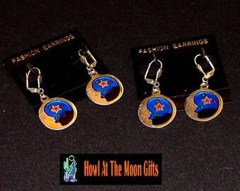 MoonWatch Cloisonne Earrings