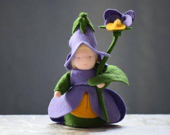 Violet Flower Child