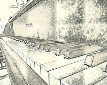 Schumann Piano Keys