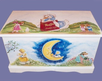 Nursery Rhyme Toy Chest Custom Designed