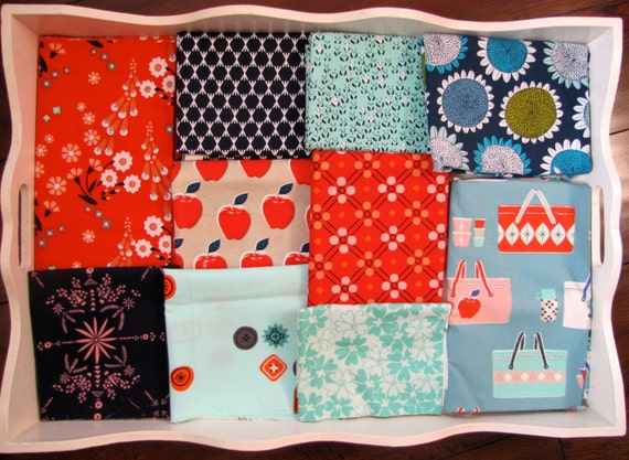 Cotton & Steel Picnic Patchwork and Minky Blanket Made to Order