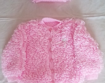 Baby Girl sweater, knitted sweater, baby sweater,girl sweater, newborn girl sweater,sweater age 1-2, ready to ship