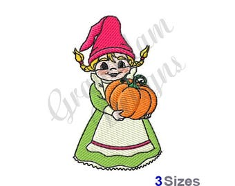 Gnome Wife - Machine Embroidery Design