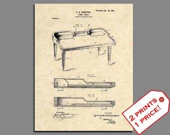 Patent Prints - Craps Table Patent Art - Vintage Vegas Prints Casino Print - Vegas Wall Art Patent Poster - Casino Wall Art Vegas Art - 464