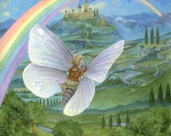 Rainbow's End 8.5x11 Signed Print
