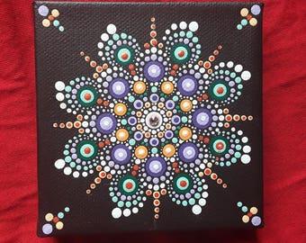 Dotillism art - Triad Mandala