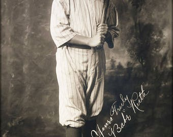 Poster, Many Sizes Available; Babe Ruth,