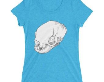 Ladies' Sloth Skull Tee