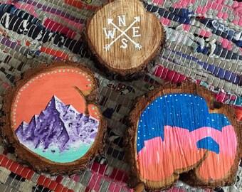 Tree Cookie Paintings Set