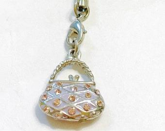 Tiny handbag charm