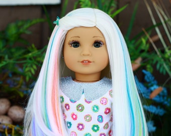 Sweet OOAK American Girl Doll Custom Repaint Jess Face Mold